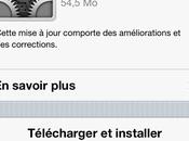 Mise jour l'iOS vers 5.1.1