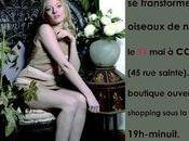 Inauguration boutique MIDINETTES Oiseaux Nuit