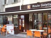 Roule galette crêpes mode fast food.