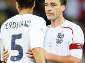 Angleterre liste sans Ferdinand