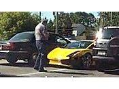 Insolite Lamborghini Gallardo crashe dans virage video
