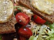 recette Miel Salade Miel-Chèvre chaud