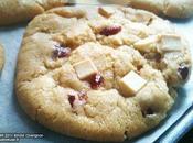 Cookies pépites chocolat blanc cranberries