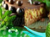 Marbré italien, ganache chocolat menthe fraîche