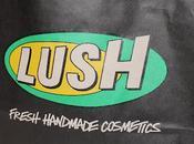 Aujourd'hui suis entrée dans magasin Lush!