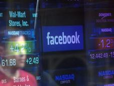 Facebook plonge bourse