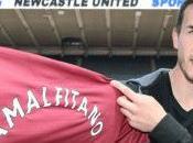 Newcastle Amalfitano arrive