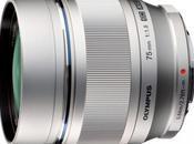 Olympus annonce M.ZUIKO DIGITAL 75mm 1:1.8