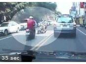 Crash accident scooter videos