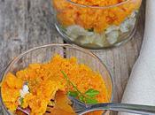 Hachis poisson purée carottes