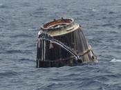 capsule Dragon SpaceX amerri dans Pacifique