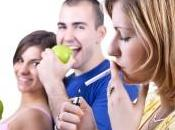 Pour arrêter fumer, croque pomme