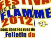 2012, Felletin accueille édition Festival Flamme juillet prochain