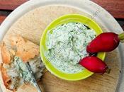 Fromage tartiner fânes radis Radish Green Cheese Spread
