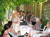 Rencontre avec Michèle Pouget, librairie Elan dans jardins…