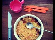 Gouter Time Crumble Rhubarbe