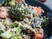 Sarrasin brocoli, sauce miso