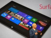 Surface tablette Microsoft
