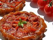 Tartelettes tatin tomate cerise caramel balsamique