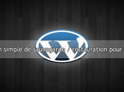Créer plugin simple sauvegarde restauration pour WordPress