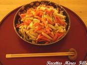 recette Salade Estivale légumes vinaigrés couleurs