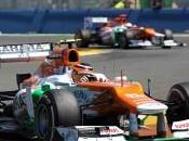 Force India très satisfaite course Valence