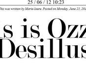 This Ozzie, Tome Desillusion Magazine