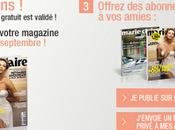 suisses: 2500 abonnements gratuits Marie- Claire