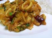 Curry calamars Squid curry