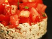Tartare tomates rillettes thon {recette zone}