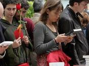 Sant Jordi, fête livre rose