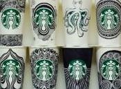 Créativité caféïnée Starbucks Doodles