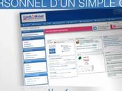 site personnalisé dynamique pour clients Crédit Mutuel Centre Europe