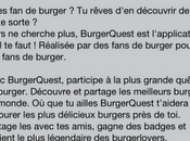 BurgerQuest application iphone