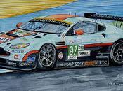 l'ASTON MARTIN Heures Mans 2012
