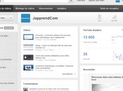 Découvrir nouveau Tableau Bord Youtube