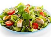 Salade suprêmes dinde grillés plancha