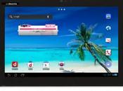 Panasonic Eluga Live tablette sous Cream Sandwich