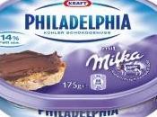 Philadelphia goût Milka