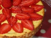 Cheescake vanille petit beurre fraise
