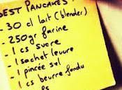 Pancakes simples, rapides efficaces.