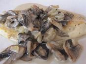 escalope crème/champignons