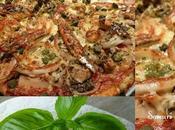 Pizza Anchois, Pâte Basilic