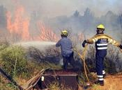 Gigantesque incendie Espagne