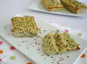 Cake courgettes râpées, flocons d'avoine carvi
