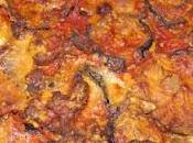 Gratin d'aubergines l'Italienne (aubergines parmigiana)