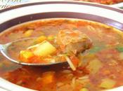 chorba algerienne (soupe legumes)