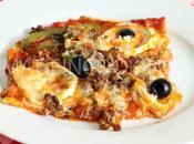 Pizza boeuf haché, poivrons fromages