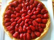recette Fruits rouges Tarte feuilletée fraises