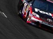 SCS: Denny Hamlin Toyota pôle l'IMS